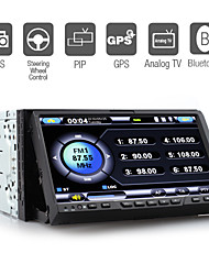 7 Inch Digital Touchscreen Car DVD Player with GPS Bluetooth TV RDS PIP