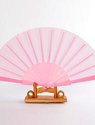 Seide Ventilatoren und Sonnenschirme-# Stück / Set Handfächer Garten Thema Klassisches Thema Rosa 42cmx23cmx1cm 2.4cmx23cmx1cm