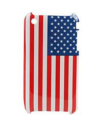 нас флаг жесткий футляр обратно защиту 3G/3GS яблоко iphone