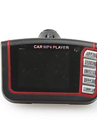 """Reproductor Mp4 Coche con LCD de 1.8"""" con modulador FM  & control remoto, negro"""