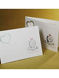 """Begin Life Together"" Folded Wedding Invitation (Set of 50)"