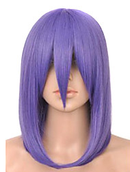 Capless Top Grade Quality Synthetic Purple Party Wig