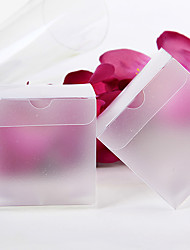 12 Piece/Set Favor Holder - Cuboid Favor Boxes Translucent