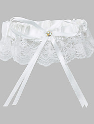 Polyester With Beading Wedding Garters