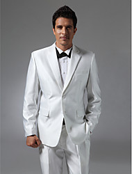 Single Breasted Two-button Notch Lapel Side-vented Groom Tuxedo