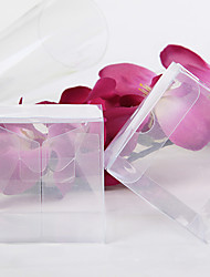 12 Piece/Set Favor Holder - Cuboid Favor Boxes Transparent