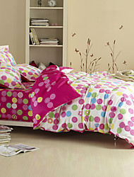 Music Dots 4-piece Full Duvet Cover Set