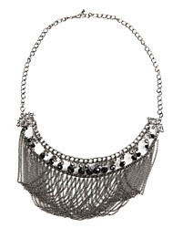 TS Gold Embellished Multi Chain Necklace