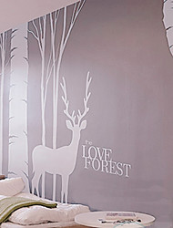 Love Forest Wall Stickers (1985-P2)