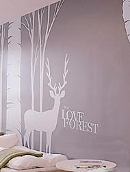 l'amour de forêt stickers muraux (1985-P2)
