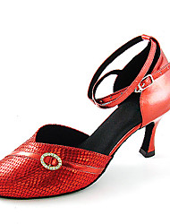 Ballroom Latin/Modern Shoes Closed-toe Leatherette Upper Dance Shoes for Women More Colors