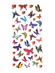 5 Pcs Butterfly Waterproof Temporary Tattoo(18.5cm*9cm)