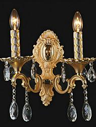 MONTROUGE - Arandela Cristal com 2 Lâmpadas