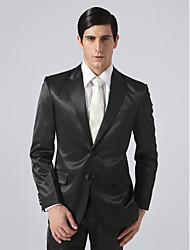 Single Breasted Two-button Notch Lapel Groom Tuxedo