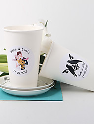 Personalized Paper Cup – Set of 20 (More Designs)