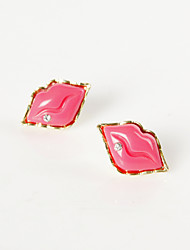 Women's Hot Lips Studs