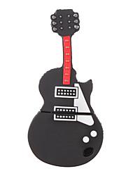 2gb mini chitarra stile flash drive (nero)