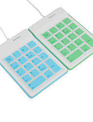 USB 18-Key Silicon Numeric Keypad for Laptop (70CM-Cable)