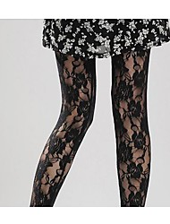 Women Thin Pantyhose , Lace