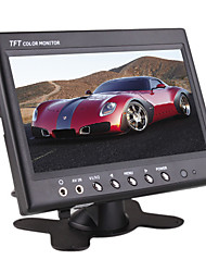 7 Inch Car TFT LCD Stand/Headrest Monitor (AV IN, Earphone Jack)
