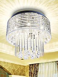 cristal semi montaje empotrado con 9 luces