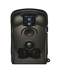 940nm sensor de pir automaticamente câmera digital para trilha de caça (preto)