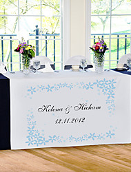 Table Centerpieces Personalize Reception Desk Table Runner - Vitality  Table Deocrations