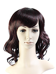 Capless Medium Long 100% Imported Heat-resistant Fiber Body Wave Wig