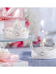 Crown Candle Favor-Set Of 4(Random Shipment)