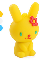 4gb style cartoon de lapin lecteur flash USB (couleurs assorties)