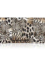 Faux Leather with Animal Print Evening Handbags/Clutches/Cross-Body Bags