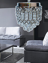 Crystal Pendant Light with 4 Lights