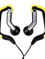 sport carte de style mp3 casque (noir)