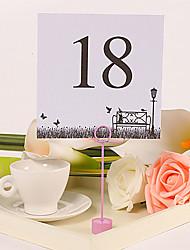 número do cartão de praça tabela - lâmpada de rua e de bancada (conjunto de 10)