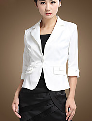 Basic One Button Blazer