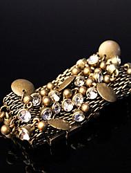 Metal Bronze Charm Magnetic Bracelet