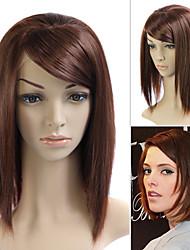 llena del cordón (cordón francés) peluca 100% humano remy del pelo de Ashley Greene estilo de pelo
