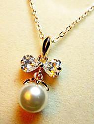 Silver Pearl collier de cristal