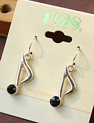 Music Symbol Earring