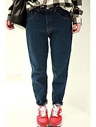 Jean Mid-rise Pants