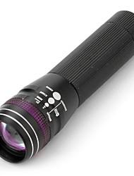 Lanternas LED / Lanternas de Mão LED 3 Modo 100 Lumens Outros AA Outros , Preto Liga de Aluminio