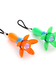 Colorful Flower Shaped LED Light with Hand Strap (Random Color)