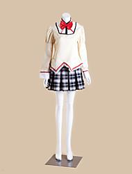 Puella Magi Mitakihara Middle School Girls' School Uniform Cosplay Costume