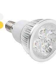 Faretti 4 LED ad alta intesità E14 4 W 360 LM warm white-3000K K Bianco caldo AC 85-265 V