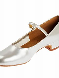 Leatherette Modern Dance Shoes For Women