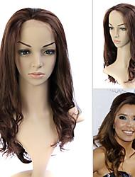 renda total (renda francesa) peruca 100% cabelo humano remy de Eva Longoria estilo de cabelo