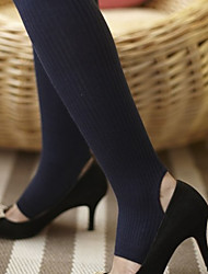 Ribbed Foot Hook Stockings (More Colors)