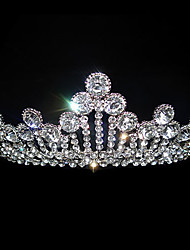 Women's Alloy Headpiece-Wedding / Special Occasion Tiaras White