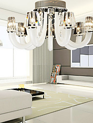 Chic Designed Ceiling Light with 8 Lights