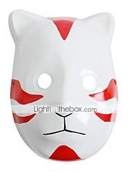 Masque Inspiré par Naruto Cosplay Anime Accessoires de Cosplay Masque Blanc / Rouge PVC Masculin / Féminin